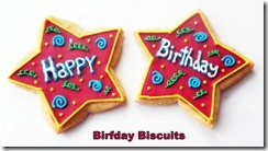 Birfday Biscuits