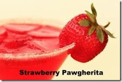 Strawberry Pawgherita